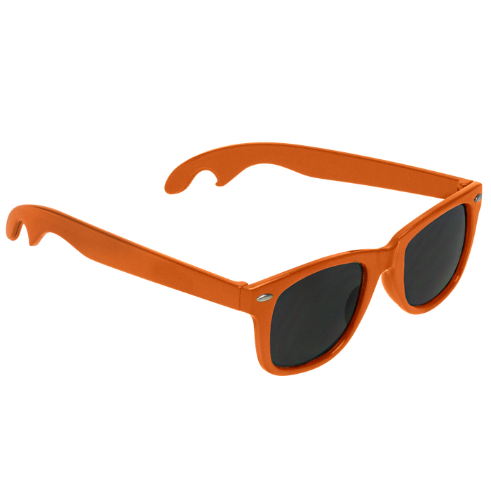 Orange Panama Bottle Opener Sunglasses