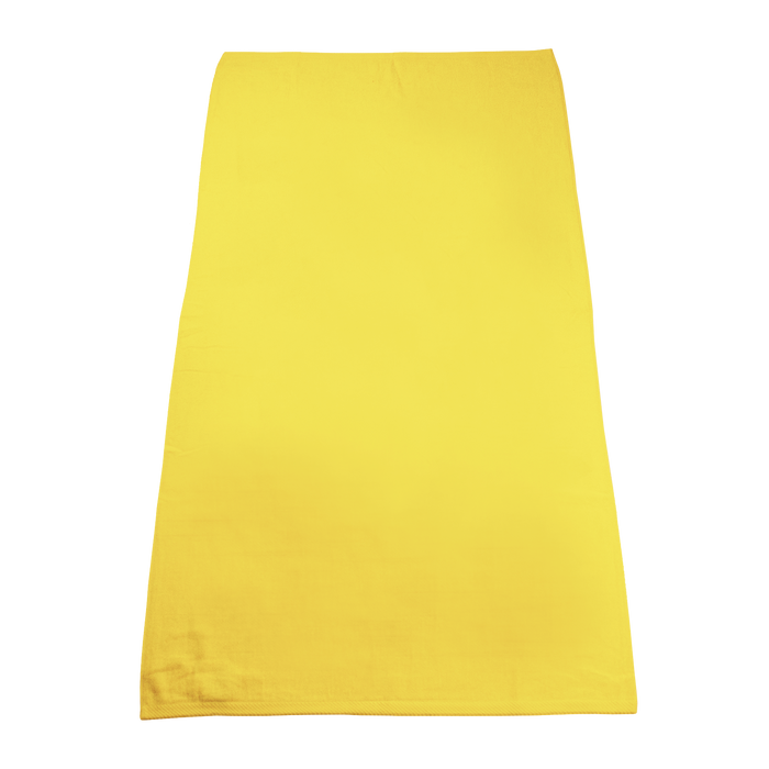 Yellow Classic Color Beach Towel