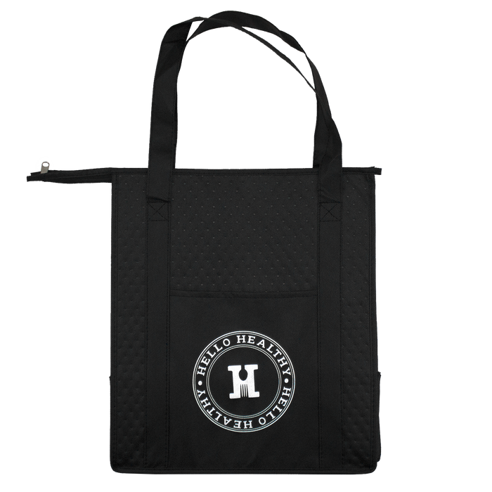 Insulated Cooler Tote with Pocket