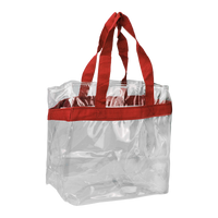 Red Heavyweight Vinyl Tote Bag Thumb
