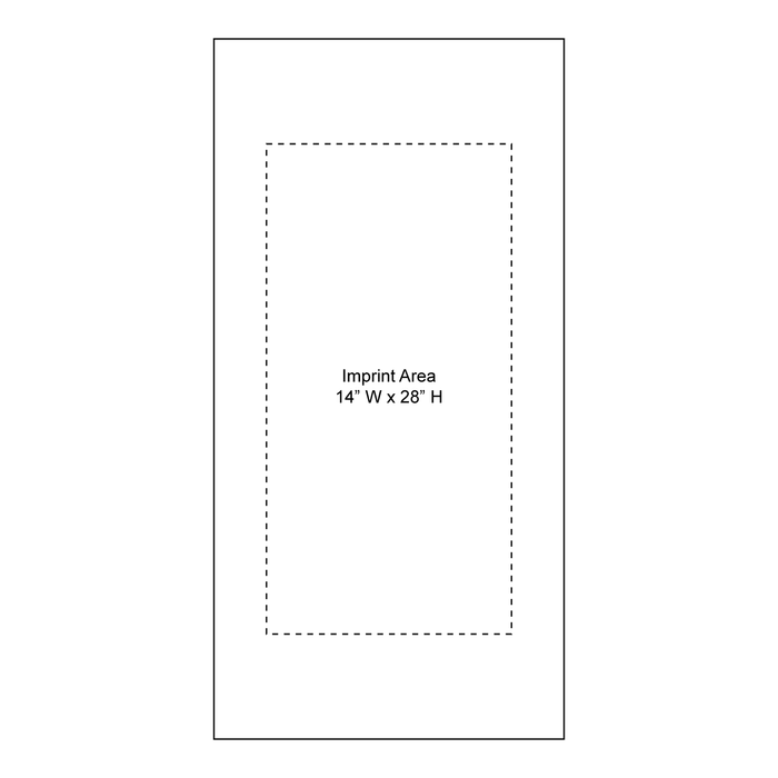 Microfiber White Fitness Towel