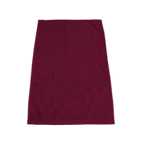 Maroon Ultraweight Colored Fitness Towel Thumb