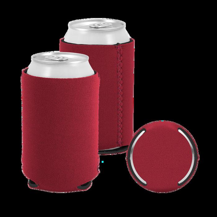 Garnet Premium Collapsible Neoprene Koozie