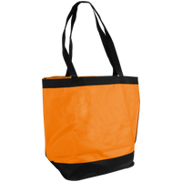 Tangerine Clipper Beach Tote Bag Thumb