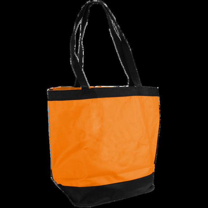 Tangerine Clipper Beach Tote Bag