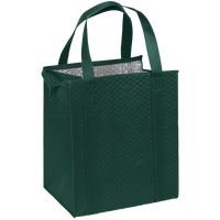 Hunter Green Large Insulated Cooler Tote Thumb