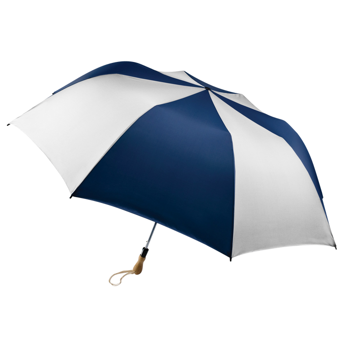 Navy/White Leo Umbrella