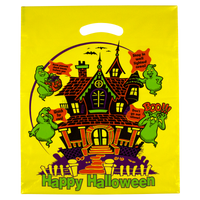 Yellow Yellow Haunted House Bag Thumb