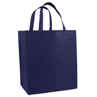 Navy Blue American Made Grocery Bag Thumb