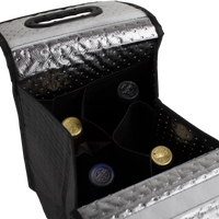Insulated 4 Bottle Wine Tote Thumb
