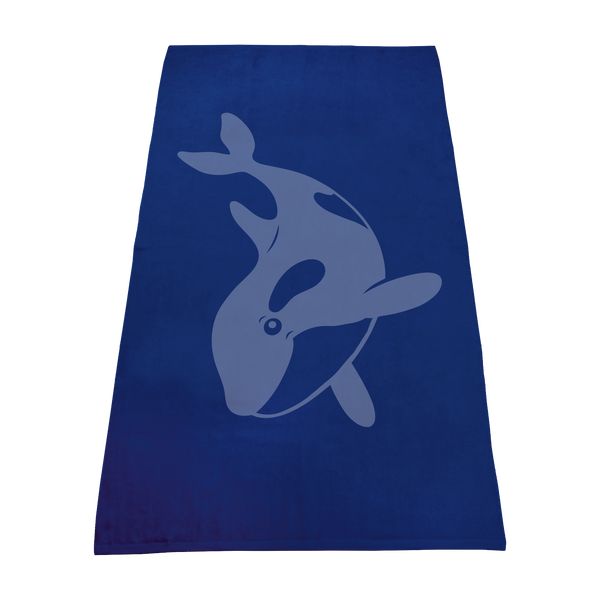 imprinted beach towels,  color beach towels,