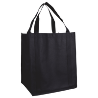 Black Wine & Dine Reusable Tote Bag Thumb