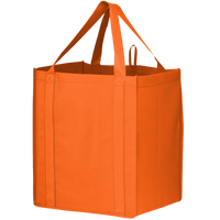 Orange Big Storm Grocery Bag Thumb