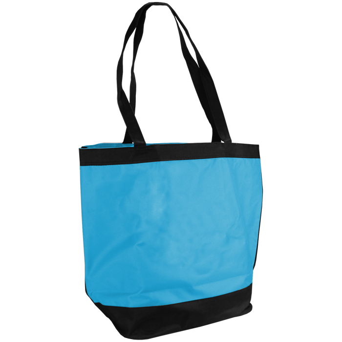Turquoise Clipper Fashion Tote Bag