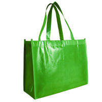Lime Green Laminated Convention Tote Thumb