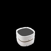 White Mini Desktop Vacuum Thumb