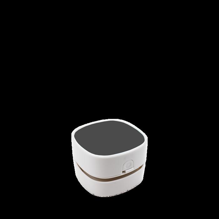 White Mini Desktop Vacuum