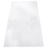 White Heavy Weight American Made White Beach Towel Thumb