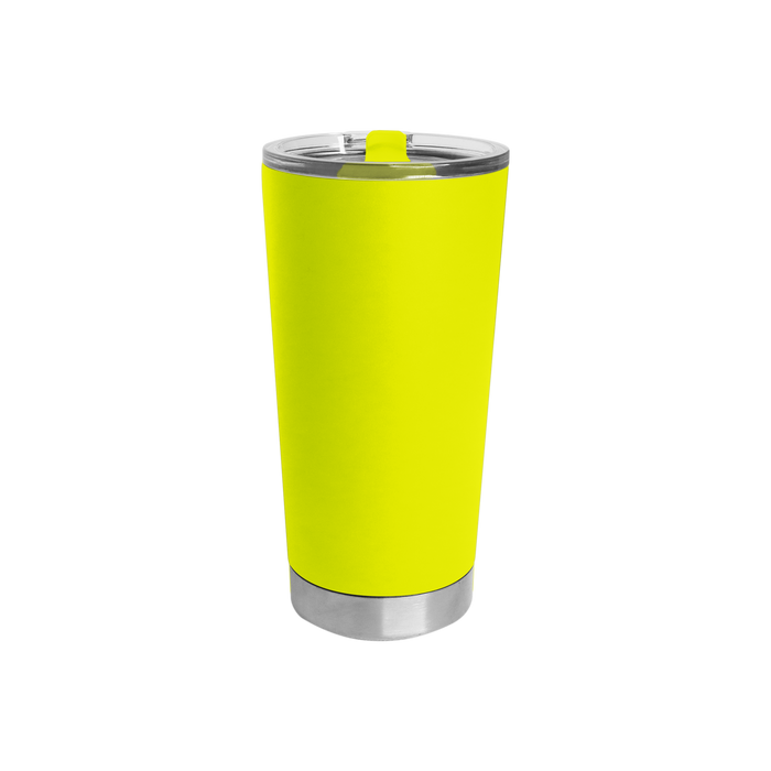 Neon Yellow Small Stainless Steel Insulated Tumbler