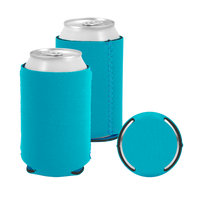 Aqua Premium Collapsible Neoprene Koozie Thumb