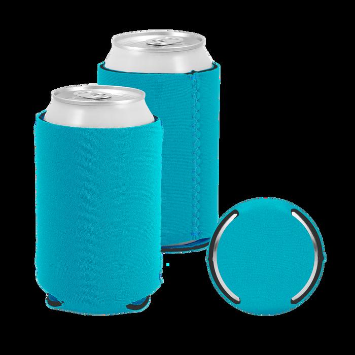 Aqua Premium Collapsible Neoprene Koozie