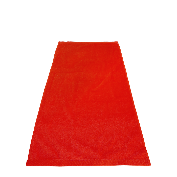 Red Flex Color Fitness Towel