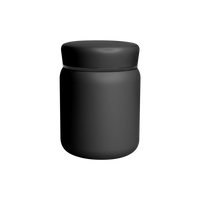 Matte Black Stainless Steel Insulated Food Canister Thumb