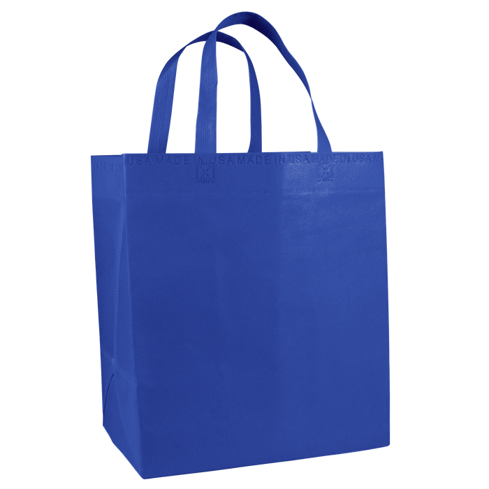 Royal Blue American Made Grocery Bag