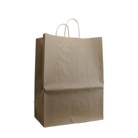 Natural Large Kraft Paper Shopper Bag Thumb