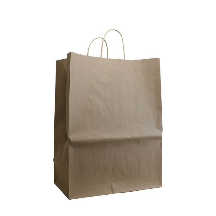 Natural Large Kraft Paper Shopper Bag