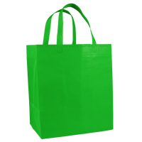 Lime Green American Made Grocery Bag Thumb