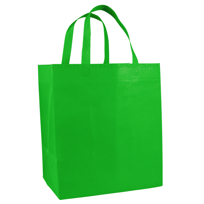 Lime Green American Made Grocery Bag
