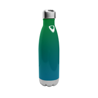 Green/Blue Ombre Vacuum Insulated Thermal Bottle Thumb