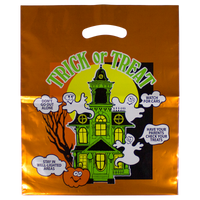 Metallic Orange Haunted House Bag  Thumb