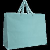 Aqua Large Matte Shopper Bag Thumb