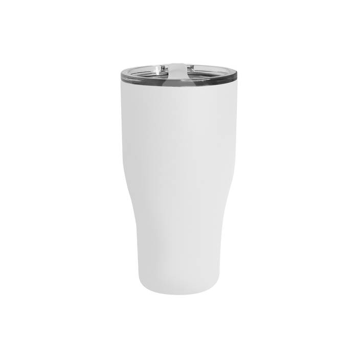 Matte White Large Stainless Steel Insulated Tumbler