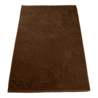 Brown Seascape Color Beach Towel Thumb