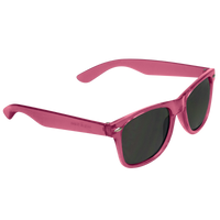 Transparent Pink Classic Color Sunglasses Thumb