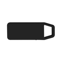 Black Mini Clip-On Bluetooth Speaker Thumb