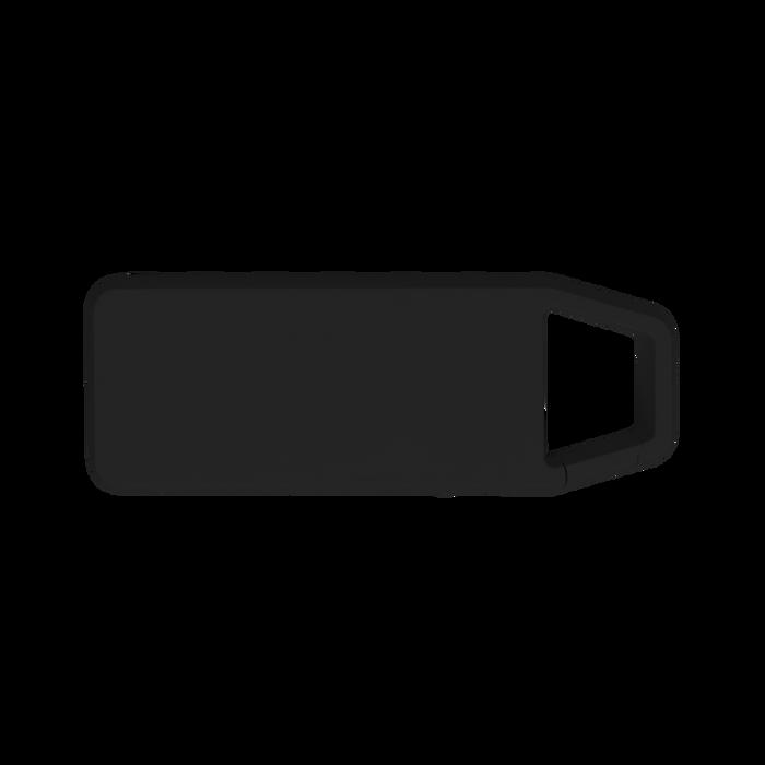 Black Mini Clip-On Bluetooth Speaker