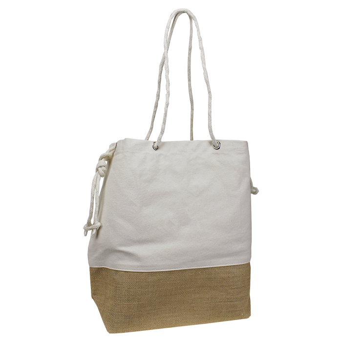 Natural Islay Canvas Beach Bag