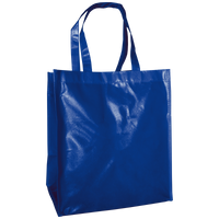 Royal Blue Laminated Big Storm Grocery Bag Thumb