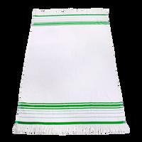 Lime Green Windsor Fringed Beach Towel Thumb
