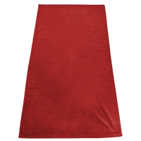 Red Gypsea Color Beach Towel Thumb