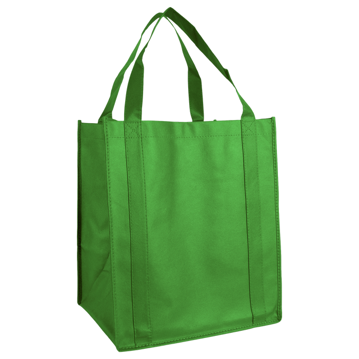 Lime Green Wine & Dine Reusable Tote Bag