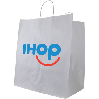 Extra Large White Paper Shopper