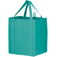 Teal Big Storm Grocery Bag Thumb