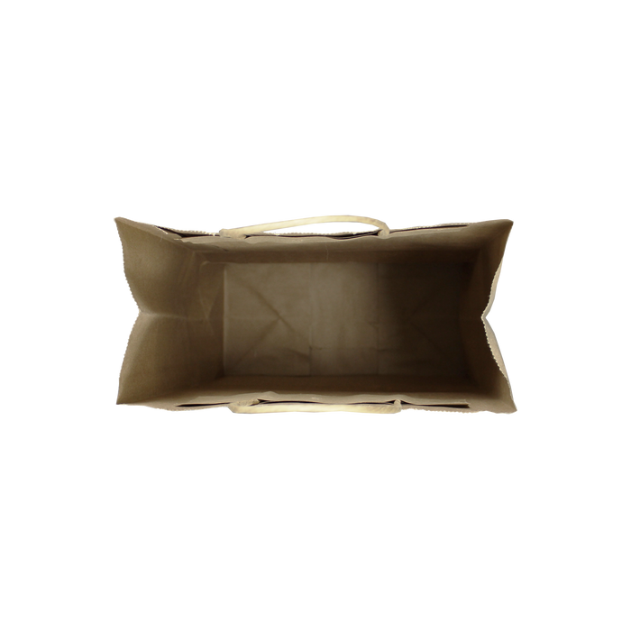 Small Kraft Paper Shopper Bag