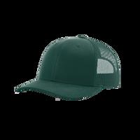Dark Green Richardson Trucker Snapback Hat Thumb