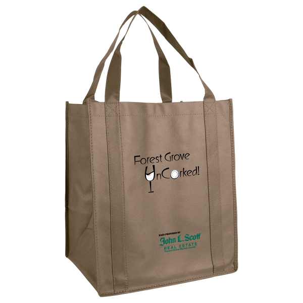 reusable grocery bags,  wine totes,